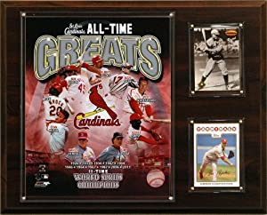 MLB St. Louis Cardinals All-Time Greats Photo Plaque by C&I Collectables
