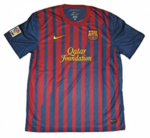 Maillot De Football enfant Nike FC Barcelone Domicile 2011-2012 (13-15 ans)