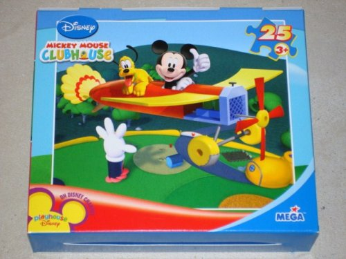 Cheap Fun Disney Mickey Mouse Clubhouse 25 Piece Airplane Jigsaw Puzzle 9 1/8″ x 10 3/8″ (B001GB42K6)