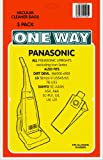 3 x PANASONIC, Panasonic upright models, ICON + more Vacuum Bags