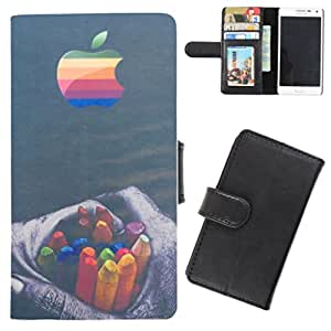 DooDa - For Micromax Canvas HD A116 PU Leather Designer Fashionable Fancy Flip Case Cover Pouch With Card, ID & Cash Slots And Smooth Inner Velvet With Strong Magnetic Lock