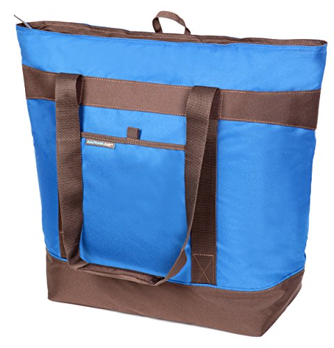 Rachael Ray Jumbo ChillOut Thermal Tote, Blue - 1