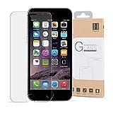 iPhone6s ガラスフィルム iPhone6 保護フィルム Hippox 強化ガラス保護フィルム 超薄0.2mm 硬度9H 気泡ゼロ 耐指紋 撥油性 98%高透過率 2.5D ラウンドエッジ加工 3D Touch対応 耐衝撃 飛散防止処理 【生涯保証】