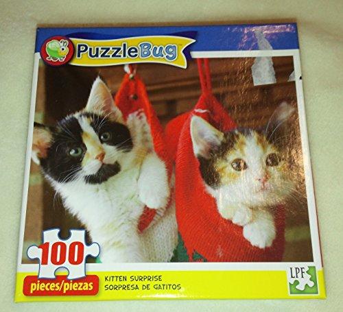 100 Piece Kitten Surprise Puzzle - 1
