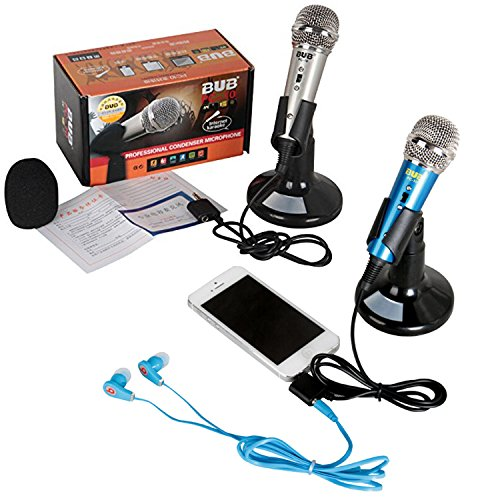 JOYOOO-Mini-Handheld-Condenser-Microphone-singing-recording-for-Mobile-phone-Compatible-with-iOS-and-Android-Smartphones