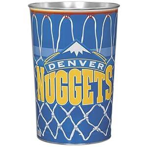 Wincraft Denver Nuggets Wastebasket - Denver Nuggets 15 x 10 Inches by WinCraft