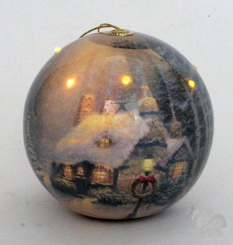 Thomas Kinkadetm Christmas Led Blinking Ornament, Stonehearth Hutch