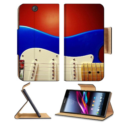 Close Up Of An Electric Guitar Sony Xperia Z Ultra Flip Case Stand Magnetic Cover Open Ports Customized Made To Order Support Ready Premium Deluxe Pu Leather 7 1/4 Inch (185Mm) X 3 15/16 Inch (100Mm) X 9/16 Inch (14Mm) Msd Sony Xperia Z Ultra Cover Profes