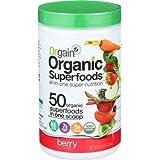 Orgain Organic Superfoods, Berry, Vegan, Gluten Free, Non-GMO, 0.62 Pound, 1 Count