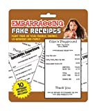 Big Mouth Toys Embarassing Fake Receipts