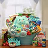 Sweet Treats and Activities Easter Gift Basket for Boys -Blue