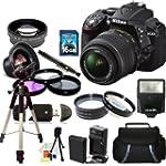 Nikon D5300 Digital SLR Camera with 1...