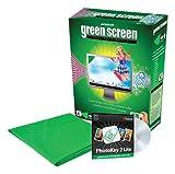 Photo Basics 655H Green Screen Lighting Kit with Software