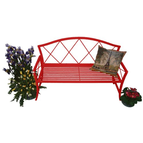 Austram 22012325 Splash Bench, Red