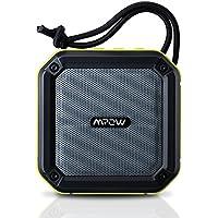 Mpow AquaPro portabeler Wireless Bluetooth Lautsprecher Speaker mit SOS Emergency Alert und wasserdicht, stoßfest Spritzwassergeschützt Staubdicht für Outdoor-Aktivitäten(Grün)