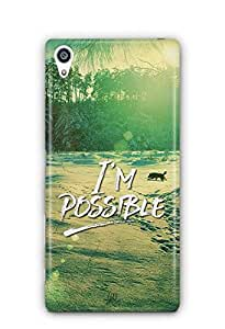 YuBingo I'm Possible Designer Mobile Case Back Cover for Sony Xperia Z5 Premium