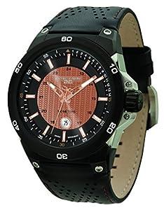 Jorg Gray JG7800-12 - Reloj de pulsera hombre, piel, color negro