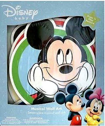 1 X Starlight Mickey Mouse 7-Piece Wall Art