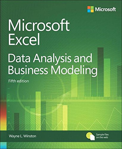 Microsoft Excel Data Analysis and Business Modeling (5th Edition) (Excel Models compare prices)