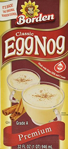 Borden Egg Nog - 32 Oz Box - Pack of 3 (Canned Eggs compare prices)
