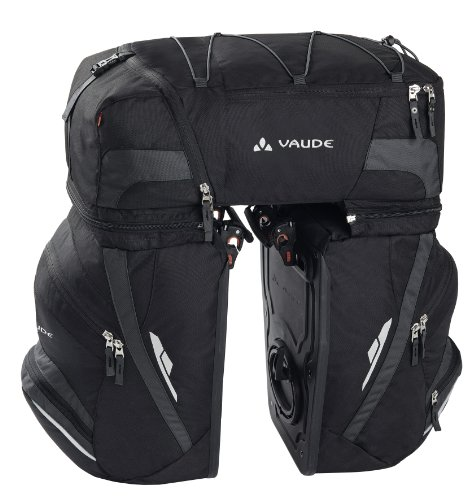VAUDE Radtasche Karakorum, Black/anthracite,