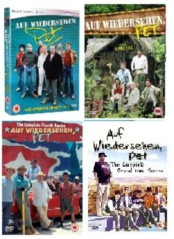 Auf Wiedersehen Pet Complete Collection Season