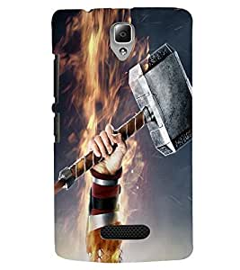 PRINTSWAG HAMMER Designer Back Cover Case for LENOVO A2010