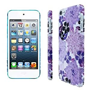Slim Fit Morning Lilac Garden Flowers Case for Apple iPod Touch 5th Gen