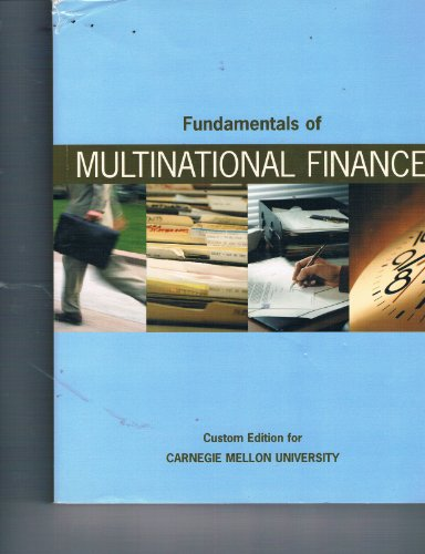 Fundamentals of Multinational Finance (Parts A and B)