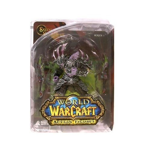 Picture of DC Comics World of Warcraft Series 3 Undead Rogue Action Figure (B0016NA9TC) (DC Comics Action Figures)