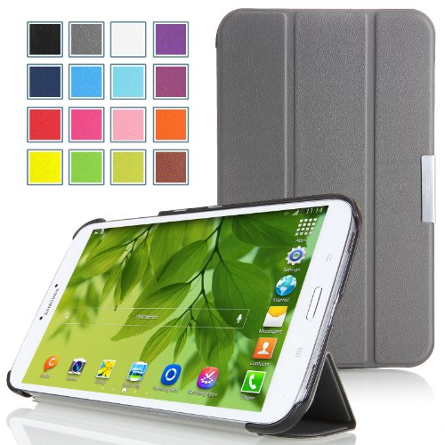 Comparamus moko mok8329 housse pour tablette pochettes pour tablettes folio gris - Pochette pour tablette samsung ...