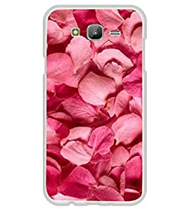 Pink Petals 2D Hard Polycarbonate Designer Back Case Cover for Samsung Galaxy On7 G600FY :: Samsung Galaxy On 7 (2015)