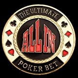 ALL IN POKER CARD GUARD CHIPS CARD PROTECTOR COINS ACCESSORYby Yousave