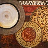 African Circles II By Pinto, Patricia - Fine Art Print On Archival PAPER : 23.5 X 23.5 Inches