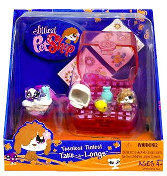 Buy Low Price Hasbro Littlest Pet Shop Teeniest Tiniest Take-A-Longs Mini Figure Dog (B001N7LP4O)