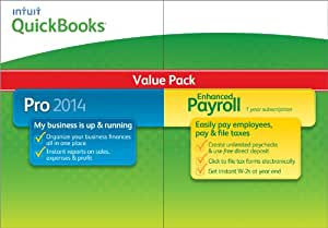 QuickBooks Pro with Enhanced Payroll 2014 [Old Version]