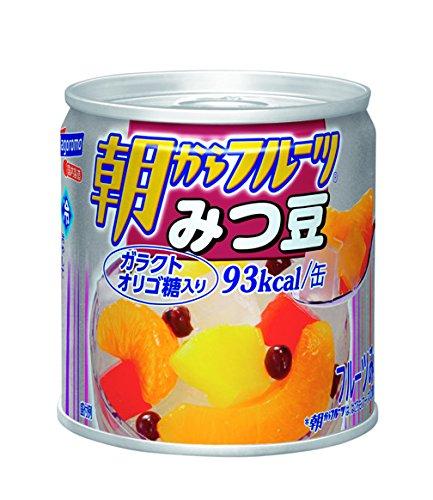 はごろも 朝からフルーツ みつ豆 190g×4個