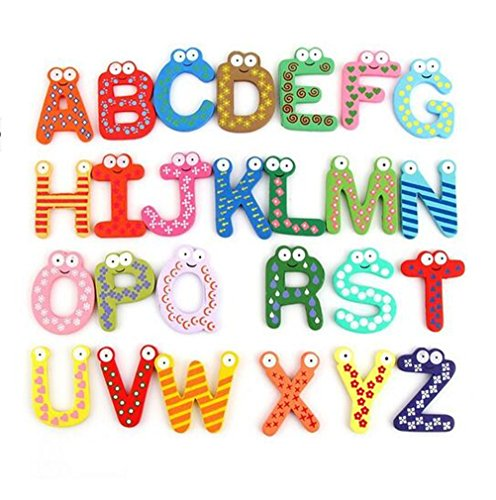 Yosoo-Fun-Colorful-Magnetic-Letters-Stickers-A-Z-Alphabet-Letter-Wooden-Cartoon-Refrigerator-Fridge-Magnets-Kids-Child-Educational-Toy-26pcs