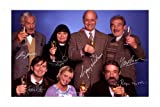 The Vicar Of Dibley Cast Signed A4 21cm x 29.7cm Poster Photo