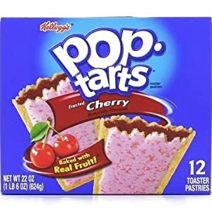 Kellogg's Pop Tarts Frosted Cherry, 22 oz