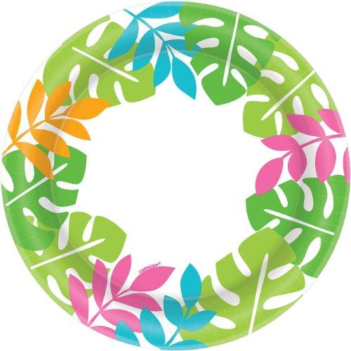 Palm Leaf Border Banquet Plates (40ct)