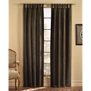 Amazon - Soft Microsuede  63-inch Curtain Window Panels - $12.99