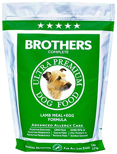 Brothers Complete Lamb & Egg Advanced Allergy Formula - 5lb (Brothers Allergy Dog Food compare prices)