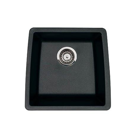 Blanco 440079 Performa Silgranit II Single Bowl Sink, Anthracite