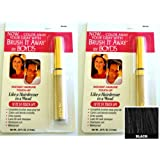Renoir x2 Brush It Away Instant Hairline Touch-up Black + 7in Brilliance Comb