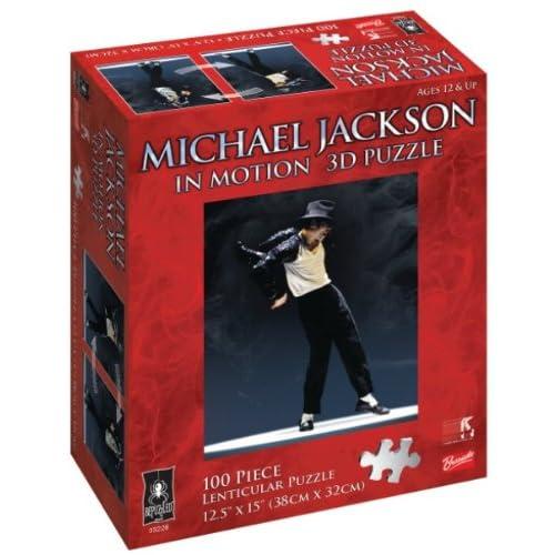 : BePuzzled Pop Culture Puzzles - Michael Jackson in Motion 3D Puzzle