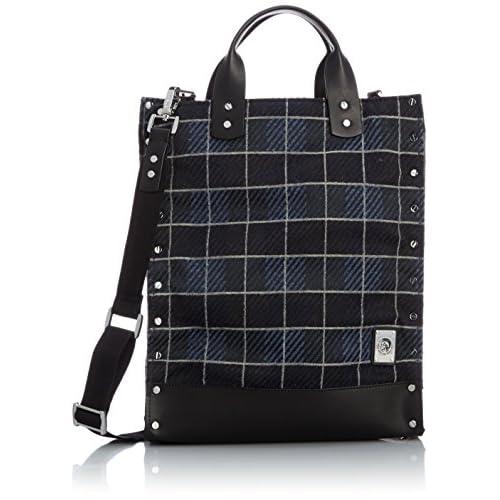 [ディーゼル] DIESEL メンズ バッグ RUGH EDGESKLIMBA - handbag X02859P04240071UNI P0424H5412 (チェック/)