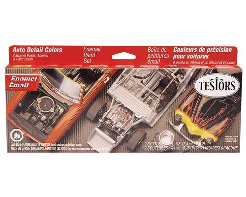 Testors Auto Detail Enamel Paint Set (Model Enamel Paint compare prices)