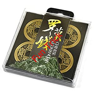 Luohanqian Chinese Coin Sets Deluxe Chinese Coin Set ( Morgan Dollar Version) / Magic Tricks/Magic Props/Coin & Money Tricks