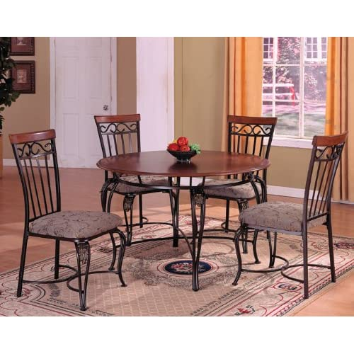 Excellent Ashley Furniture Metal and Wood Dining Table 500 x 500 · 57 kB · jpeg
